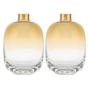 Gold Trim Vases