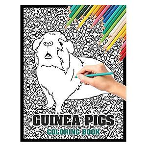 Guinea Pig Colouring Book