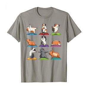 Guinea Pig Workout T-Shirt