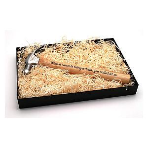 Hammer and Gift Box