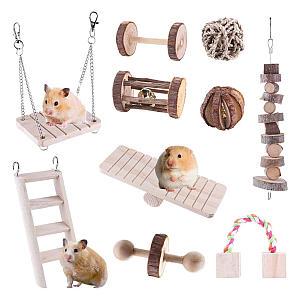 Hamster Chew Toys Set