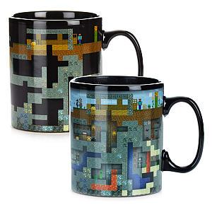Heat Changing Minecraft Mug