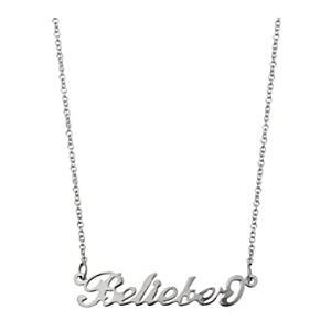 Justin Bieber Belieber Necklace