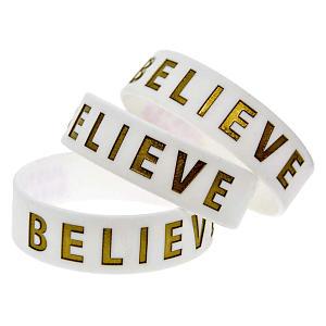 Justin Bieber Believe Silicone Bracelets