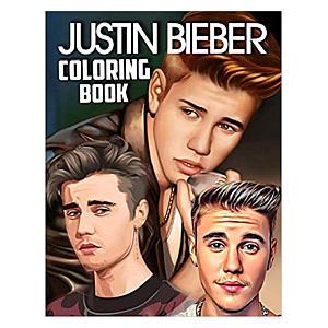 Justin Bieber Colouring Book