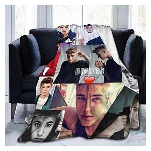 Justin Bieber Fleece Blanket