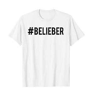 Justin Bieber Official Belieber Hashtag T-Shirt