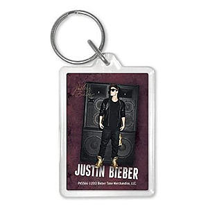 Justin Bieber Speakers Acrylic Keyring