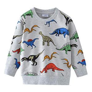 Kids Dino Print Sweatshirt