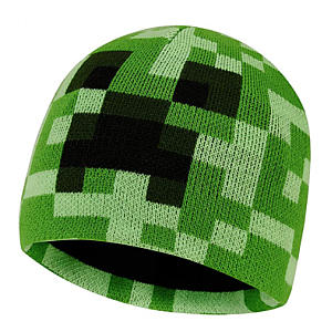 Knitted Minecraft Hat
