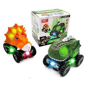 LED Dinosaur Car