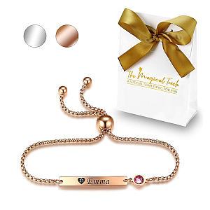 Ladies Birthstone Bracelet