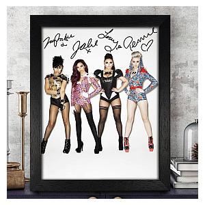 Little Mix Autograph Photo