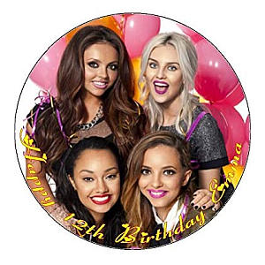 Little Mix Icing Cake Topper