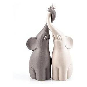Loving Elephants Ornament