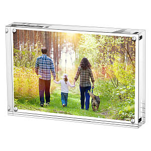 Magnetic Double Sided Photo Frame