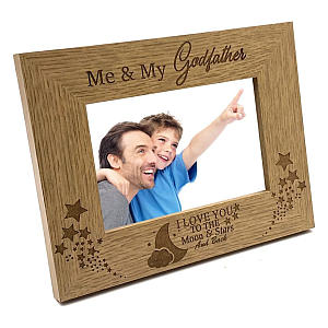 Me and My Godfather Picture Frame