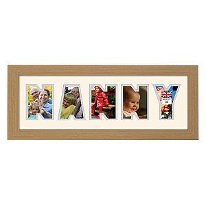 Nanny Photo Frame Word
