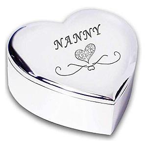 Nanny Silver Trinket Box