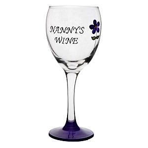 Nanny Wine Glass