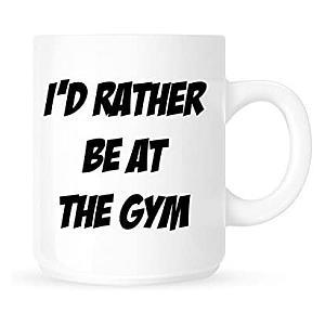 Novelty Gym Mug