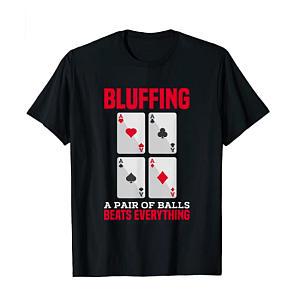 Novelty Poker T-Shirt
