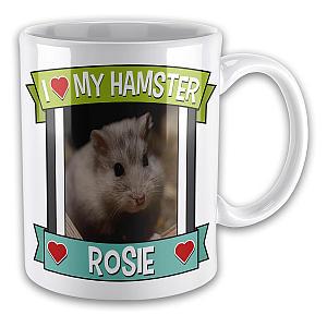 Personalised Hamster Mug