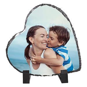Personalised Rock Heart Frame