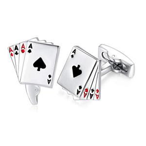Playing Card Cuff Links