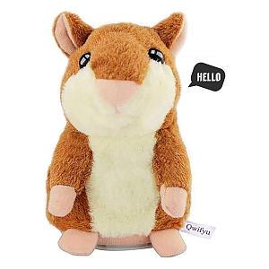 Plush Talking Hamster Toy