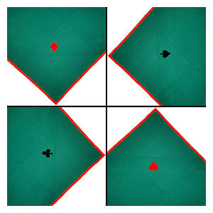 Poker Table Cloth