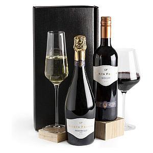 Prosecco and Red Wine Hamper