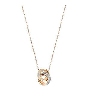 Rose Gold Dual Ring Pendant
