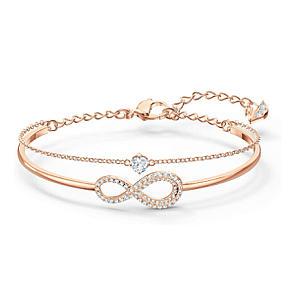 Rose Gold Swarovski Ring Set