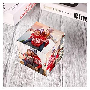 Rubiks Cube Photo Frame
