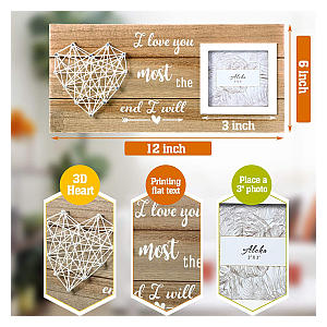 Rustic Couples Picture Frame
