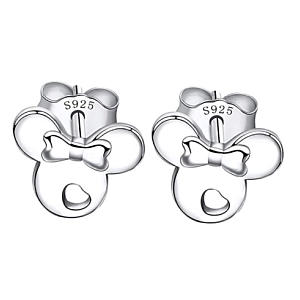 Silver Disney Earrings