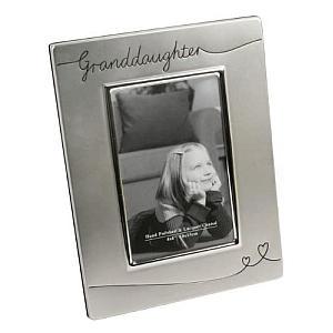 Silver Granddaughter Frame