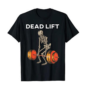 Skeleton Gym T-Shirt