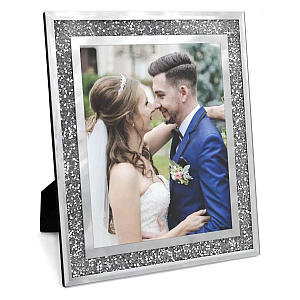 Sparkling Silver Photo Frame