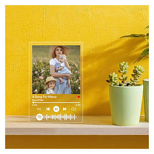 Spotify Code Picture Frame