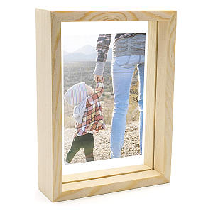 Wooden Double Sided Frame