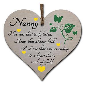 Wooden Nanny Plaque