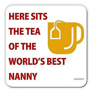 Worlds Best Nanny Coaster