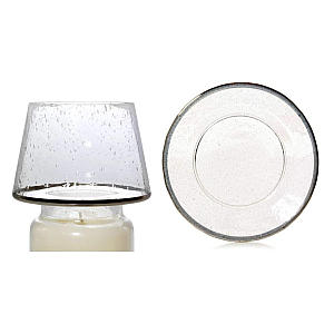 Yankee Candle Kensington Glass Lampshade and Plate