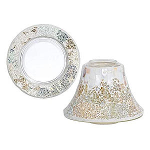 Yankee Candle Lampshade & Plate