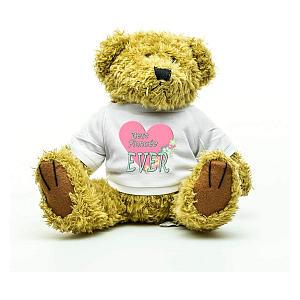 Best Fiancee Teddy Bear