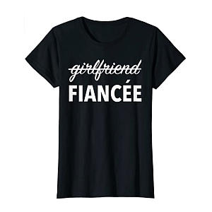 Engagement T-Shirt for Her