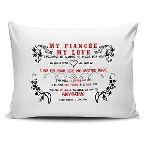 Fiancee Novelty Pillow Case