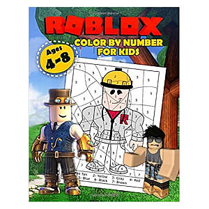 Kid's Colour By Number Book